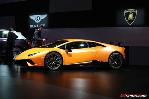 Lamborghini Performante Geneva 2017 Lamborghini Huracan Performante Gtspirit