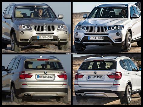 Bmw 1er Facelift Unterschiede 2015 by 2015 Bmw X3 Facelift Vs Bmw X3 Pre Facelift Photo