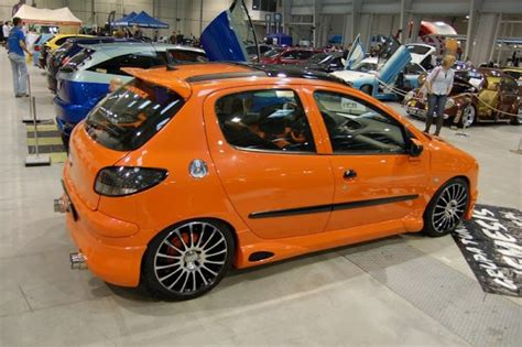 peugeot 106 orange une peugeot 206 orange tuning mag 007