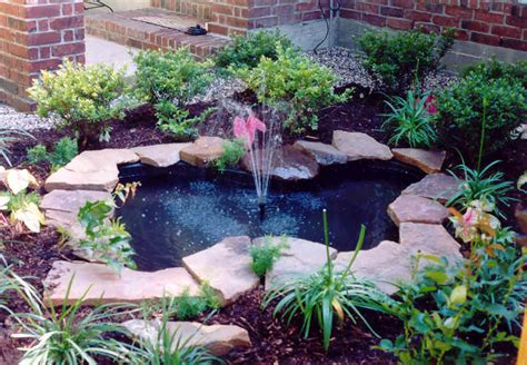 Patio Ponds And Fountains by Ponds Amp Water Features Heroes Lawn And Landscape