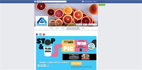 Albertsons Sweepstakes - albertsons stop and play with oreo sweepstakes