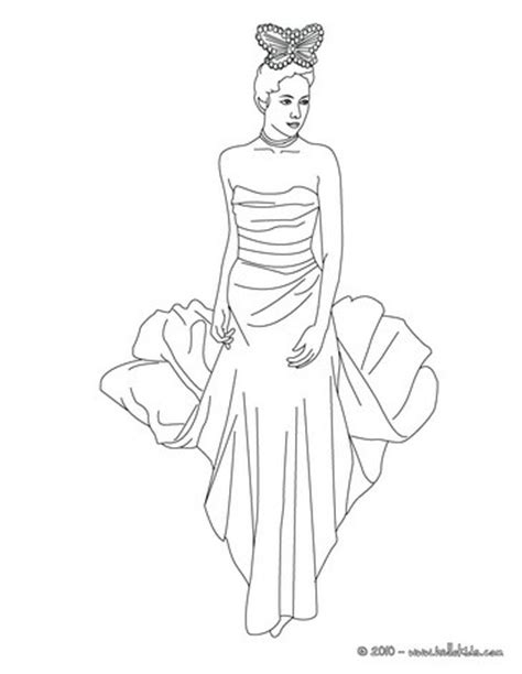 coloring pages of beautiful dresses beautiful princess coloring pages hellokids com