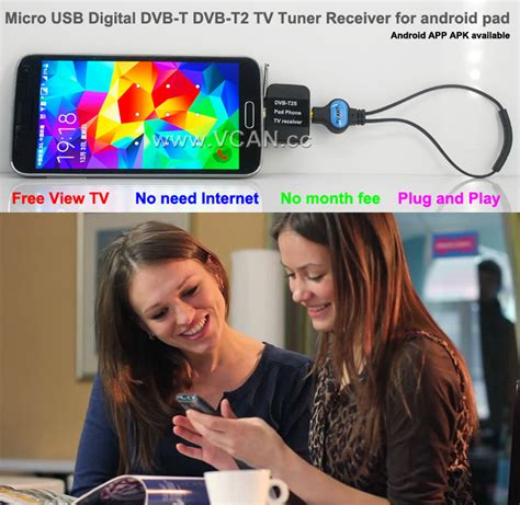 Tv Tuner Android India micro usb digital dvb t dvb t2 tv tuner receiver for android pad