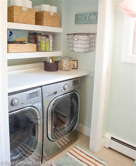 laundry room shelves diy floating shelves laundry room four generations one