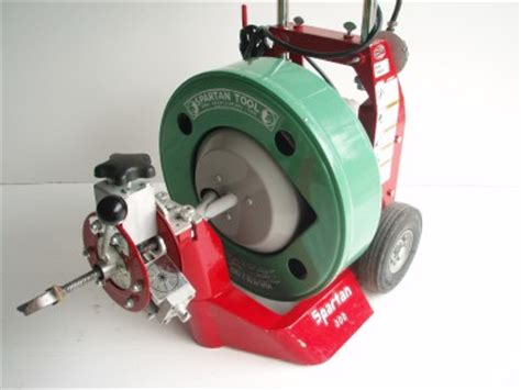 Spartan Plumbing Equipment by Spartan 300 Sewer Drain Cleaning Cleaner Cable Machine Ebay
