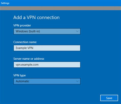 create  vpn server   windows computer