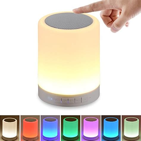 touch l portable speaker with mk night light with bluetooth speaker shava portable