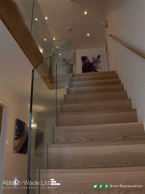 Glass Landing Banister by Best 25 Glass Balustrade Ideas On Glass Handrail Glass Stair Balustrade And