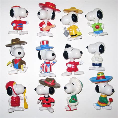 Home Decor Philippines Sale Snoopy World Tour Mcdonald S Full Set Of 28 Figurines