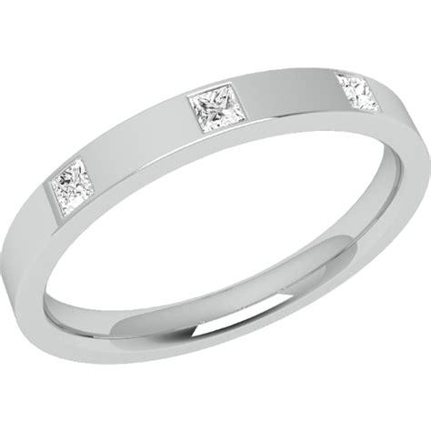 Eheringe Gold Mit 3 Diamanten by Ehering Mit Diamanten Fuer Dame In 18kt Weissgold Mit 3