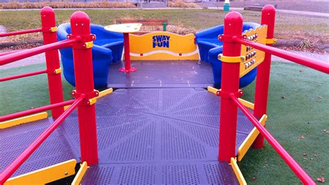 wheelchair swing set access to play