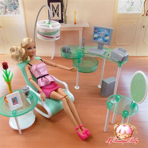 summer computer room  barbie doll fashion