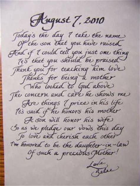 thank you letter to s parents from groom 1000 images about letters on wedding
