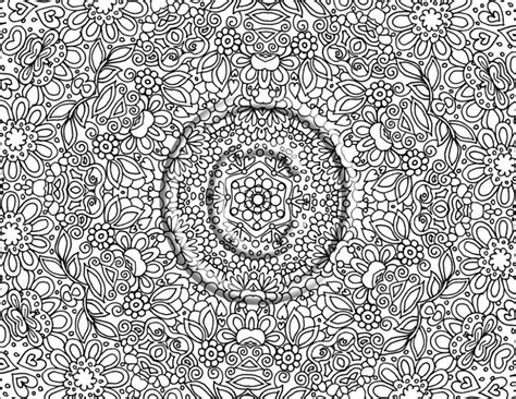 Coloring Pages Very Detailed Coloring Pages For Adults 194 Detailed Tree Coloring Pages