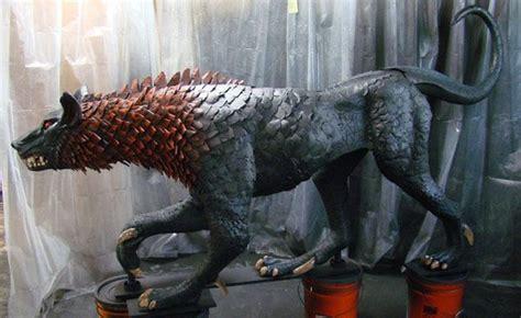 hellhound carving  foam  chronicles  riddick