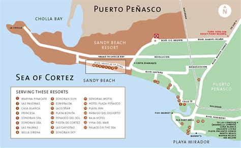 penasco map map directions to rocky point penasco mexico kyle wood