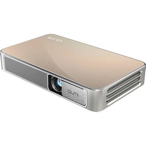 Projector Qumi vivitek qumi q3 plus 500 lumen hd pico projector q3 plus gd b h