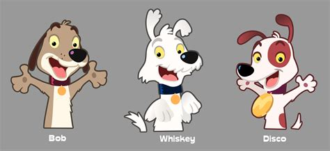 dogs characters character designs for animation the squeaky voice