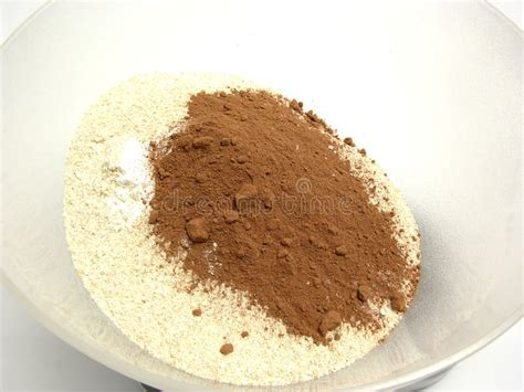 Cocoa Powder Wind Molen 45gr meal cocoa and baking powder stock image image of weight grain 8730415
