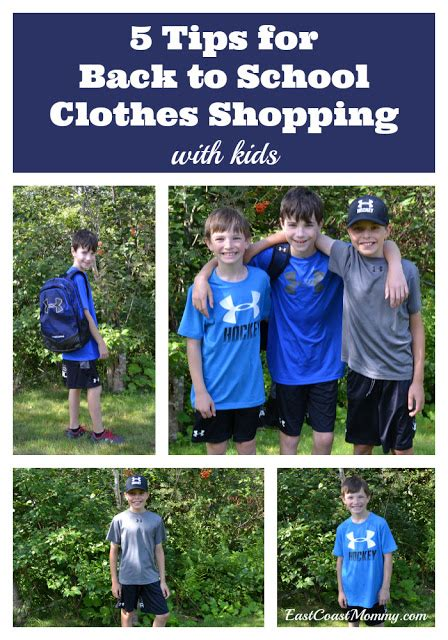 east coast mommy 5 tips for back to school clothes shopping