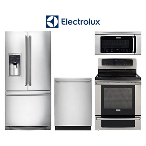 electrolux kitchen appliances electrolux kitchenpackage2 stainless steel french door