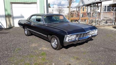 4 door 1967 chevy impala 1967 chevrolet impala 4 door hardtop 383 stroker