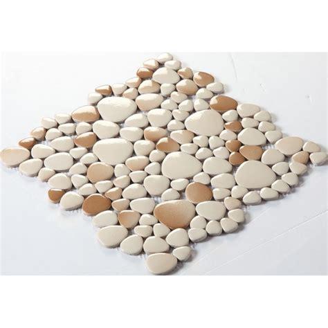wholesale backsplash tile kitchen wholesale porcelain pebble mosaic tiles design ceramic