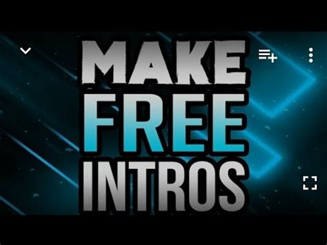 youtube intro templates for android best way to make free intro templates for youtube using