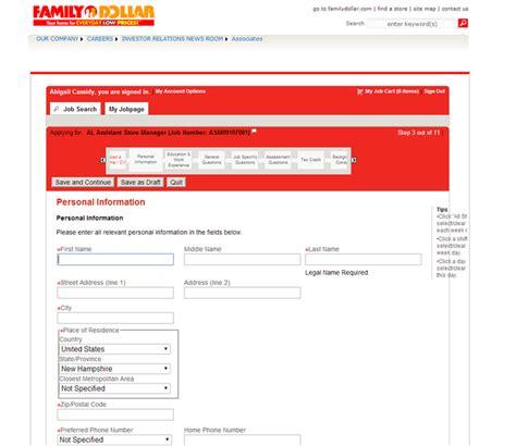 printable job application for family dollar how to apply for family dollar jobs online at familydollar