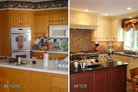 kitchen remodel before and after home