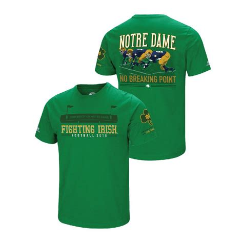 T Shirt Notre Dame White notre dame unveils the shirt for the 2018 football