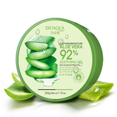 Aloevera Soothing Gel bioaqua soothing moisture aloe vera gel kpop