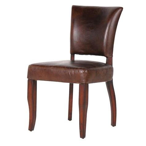 Italian Leather Dining Chairs Modern Contemporary Brown Italian Leather Dining Chair Mulberry Moon