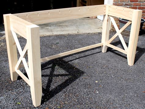 diy wood desk plans diy writing desk