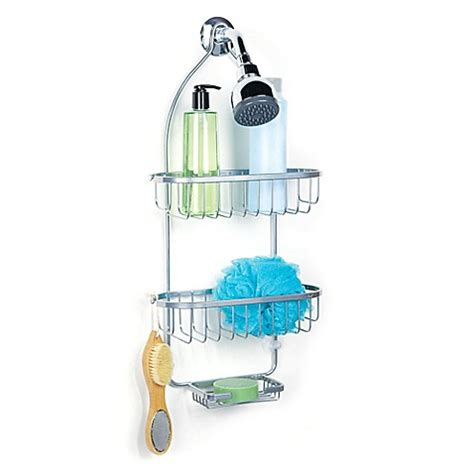 bed bath beyond shower caddy regal chrome shower caddy bed bath beyond