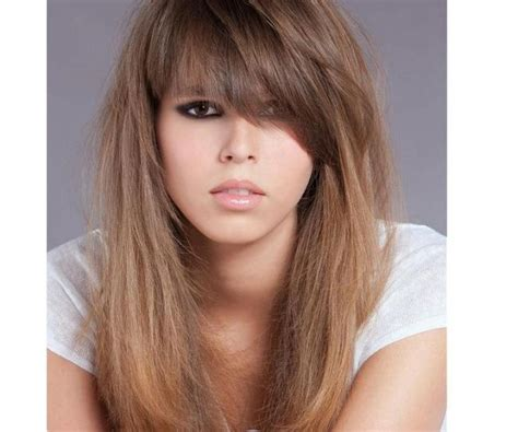 are bangs out of style this look never goes out of style hairstyle bvd