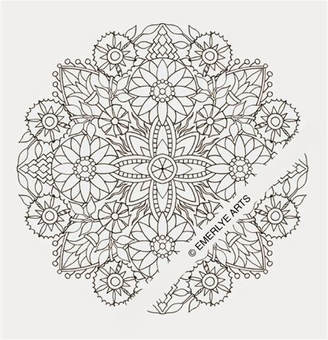 round mandala coloring pages printable mandala coloring pages free colorings net
