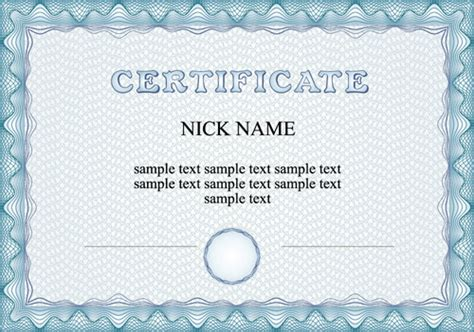 commonly certificate cover vector template free vector in cover page design template free vector download 16 484