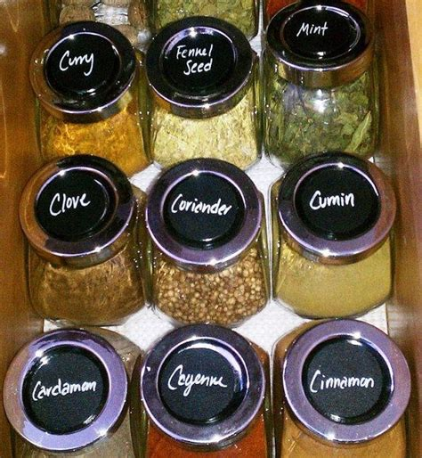 chalkboard spice label emakesolutions com 24 circle chalkboard labels 1 75 inch chalk labels
