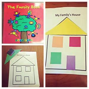 preschool family lesson plan activity families