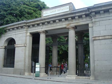 giardino botanico madrid royal botanic garden real jardin botanico madrid spain