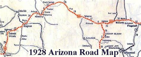 route 66 arizona map driving directions and maps