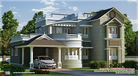 new home design new style home exterior in 1800 sq kerala home