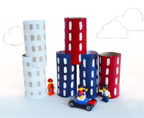 paper craft city mollymoocrafts toilet roll crafts city stacking