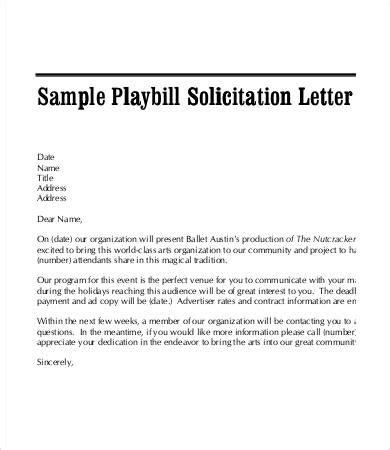 Solicitation Letter Template 7 Free Pdf Format Download Free Premium Templates Letter To Solicit Donations Template