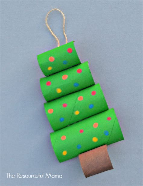 How To Make A Jewelry Roll - toilet paper roll christmas tree craft allfreekidscrafts com