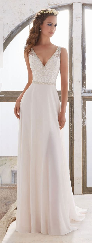 desain dress simple elegan simple classy wedding dresses watchfreak women fashions