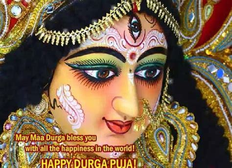 Divine Blessings Of Maa Durga! Free Happy Durga Puja