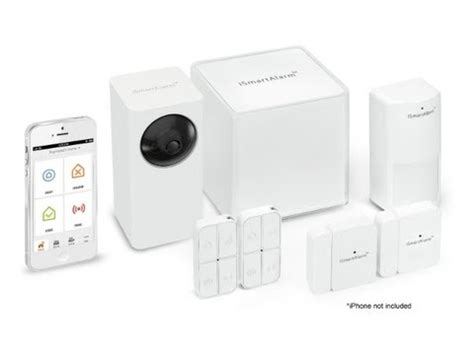 ismartalarm iphone controlled intelligent home security