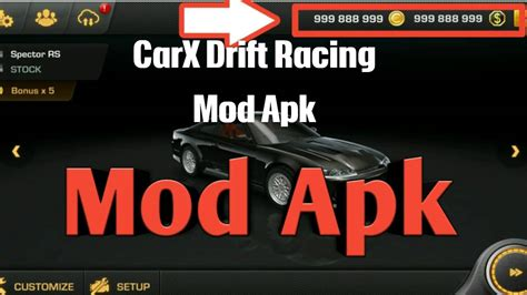 carx drift racing mod  unlimited moneycoins